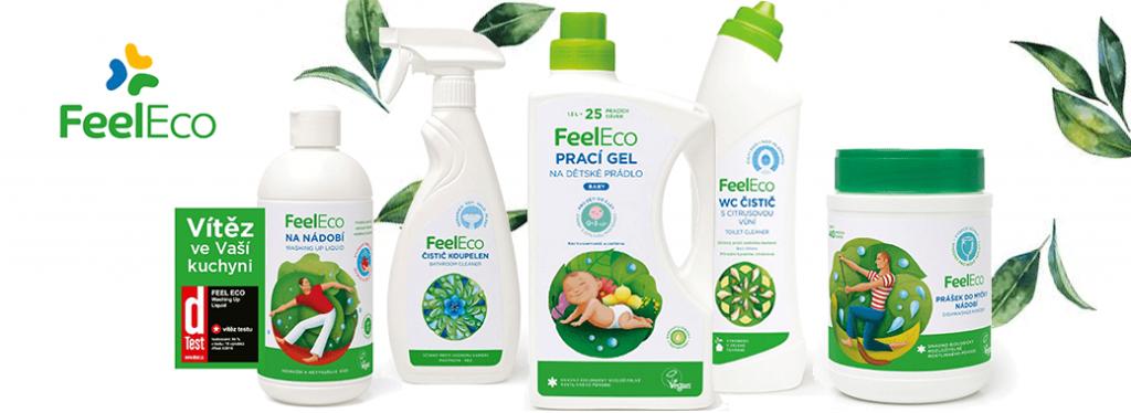 Projekt vývoje úplně nového pracího prášku Feel Eco pro globální trh.